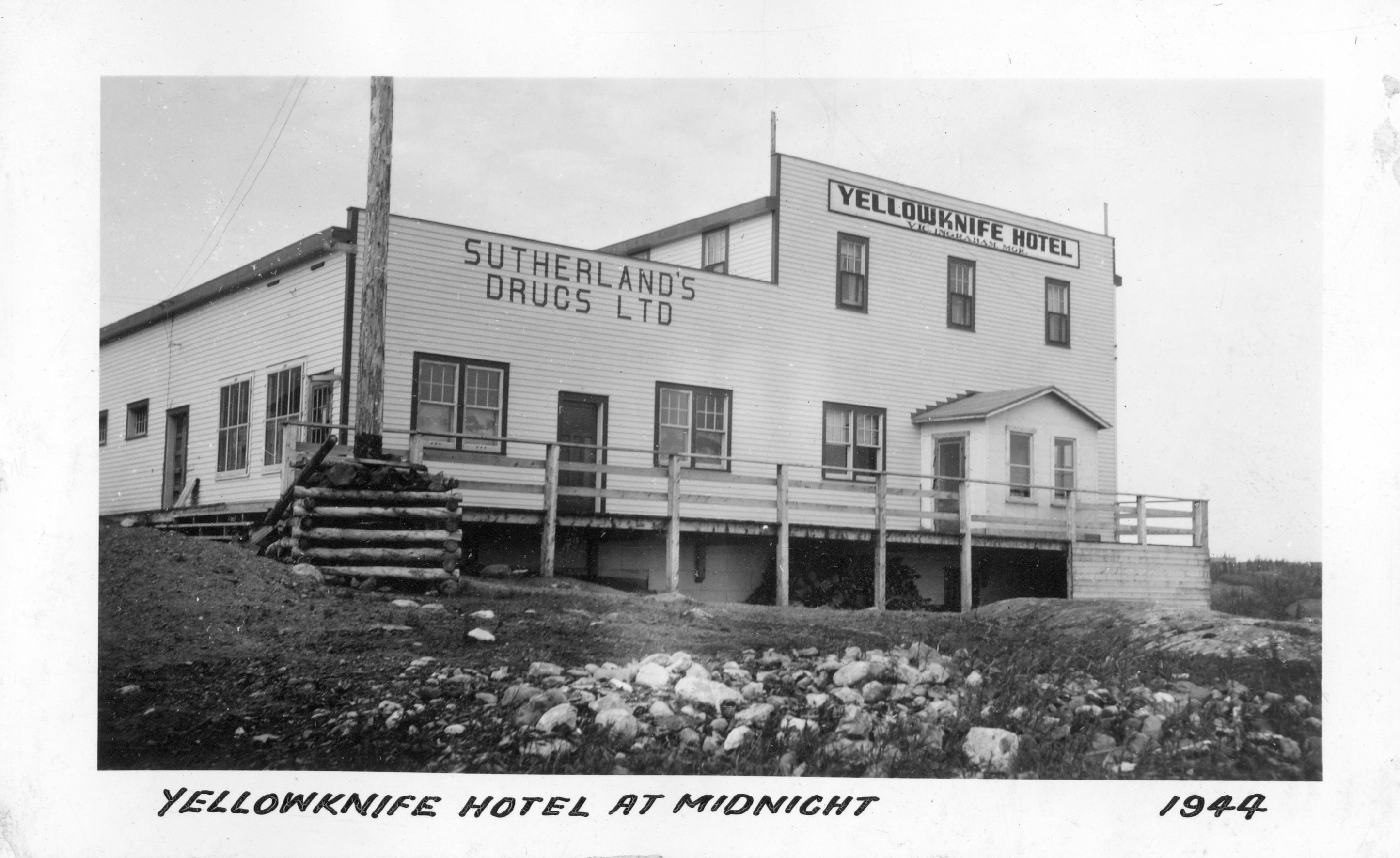 Yellowknife Hotel 1944